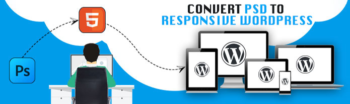Convert PSD to Responsive Wordpress